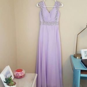 Lavender Prom Gown